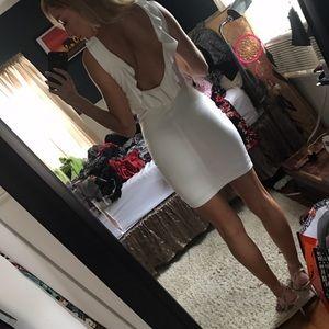 Zara backless dress